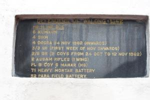 from the War Memorial at Walong, Anjaw District, Arunachal Pradesh
