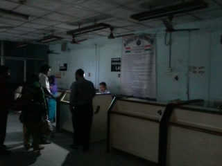 Immigration in the Dark: The Land Customs Station at Petrapole on the Indian side of the Indo-Bangladeshi border suffers from frequent power outages and telecom breakdowns