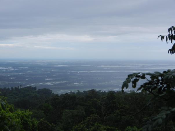 Bangladesh as seen from Mawlynnong in Meghalaya