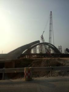 China's 'belt road initiative' - still under construction